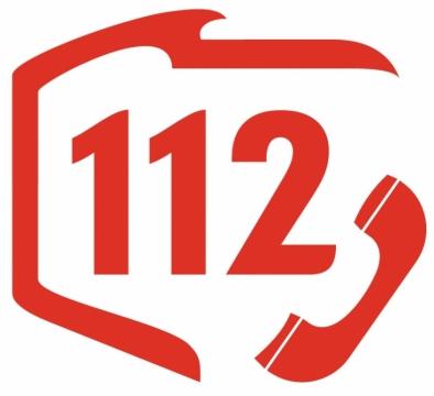 Znalezione obrazy dla zapytania logo 112